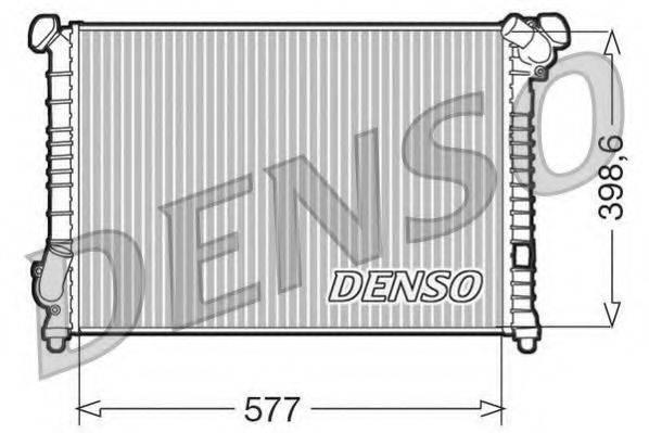 Радиатор, охлаждение двигателя DENSO DRM05102