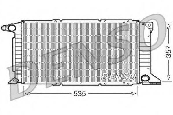 Радиатор, охлаждение двигателя DENSO DRM10101