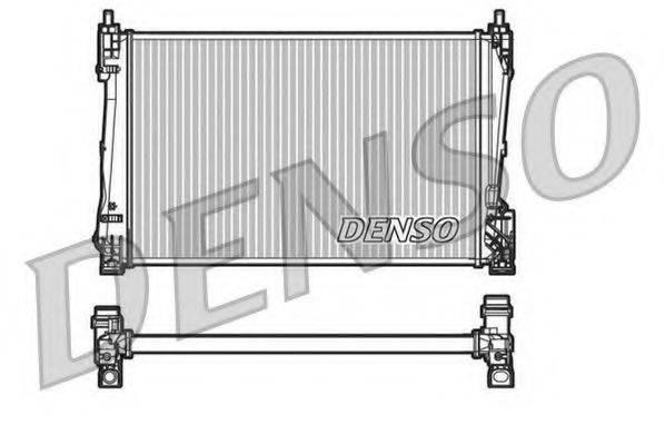 Радиатор, охлаждение двигателя DENSO DRM20090