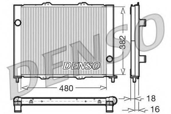модуль охлаждения DENSO DRM23099