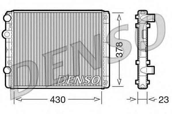Радиатор, охлаждение двигателя DENSO DRM32030
