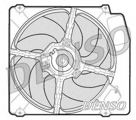 DENSO DER01203 Вентилятор, охлаждение двигателя