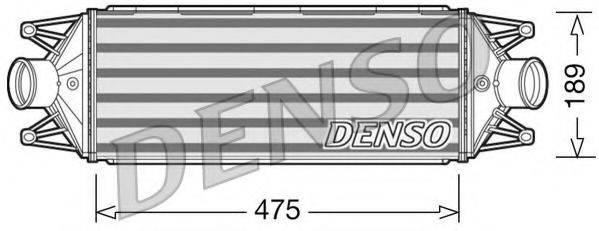 Интеркулер DENSO DIT12002