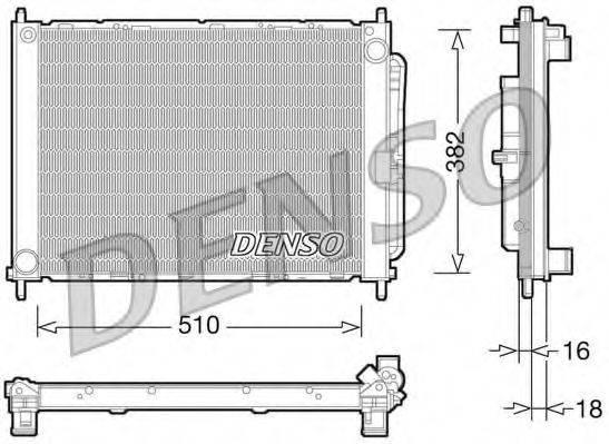 модуль охлаждения DENSO DRM23101