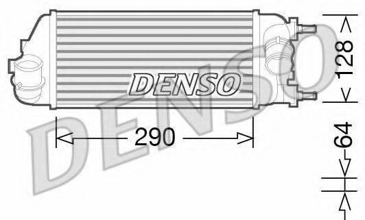 Интеркулер DENSO DIT09115