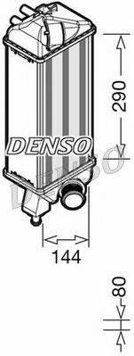 Интеркулер DENSO DIT09116