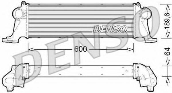 Интеркулер DENSO DIT12004