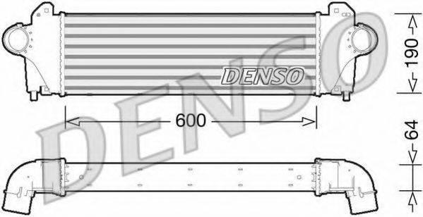 Интеркулер DENSO DIT12005