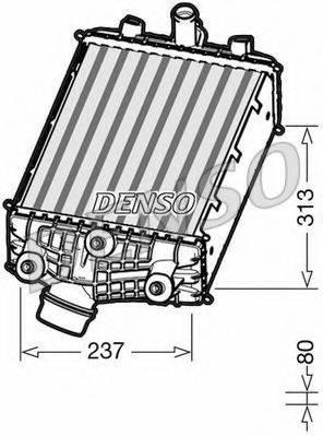 Интеркулер DENSO DIT28001