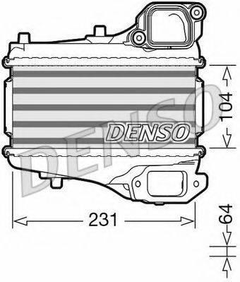 Интеркулер DENSO DIT40001