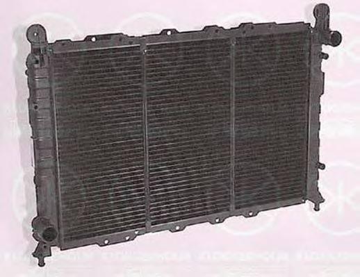 KLOKKERHOLM 0002302076 Радиатор, охлаждение двигателя