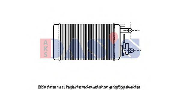 AKS DASIS 089080N Теплообменник, отопление салона