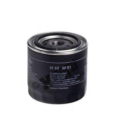 Масляный фильтр; Фильтр, Гидравлическая система привода рабочего оборудования; Воздушный фильтр, компрессор - подсос воздуха HENGST FILTER H10W01