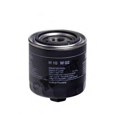 Масляный фильтр; Воздушный фильтр, компрессор - подсос воздуха HENGST FILTER H10W02