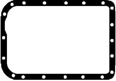 GLASER X0674301 Прокладка, маслянный поддон