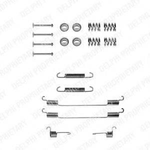 DELPHI LY1122 Комплектующие, тормозная колодка